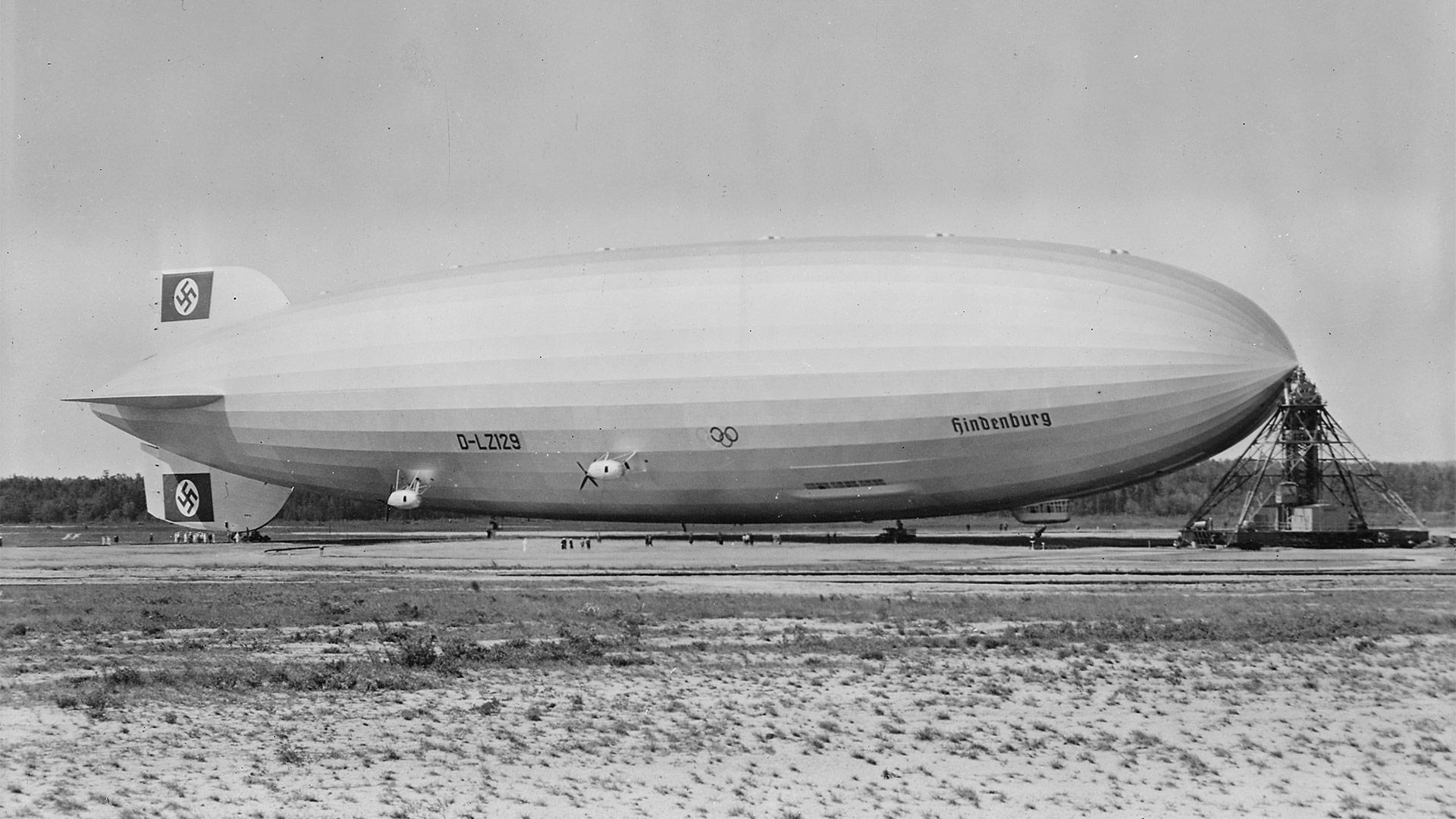 Hindenburg a lakehurst