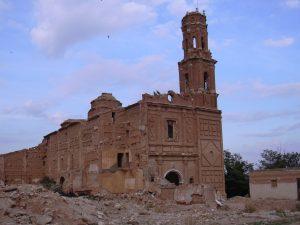 belchite chiesa san agustin