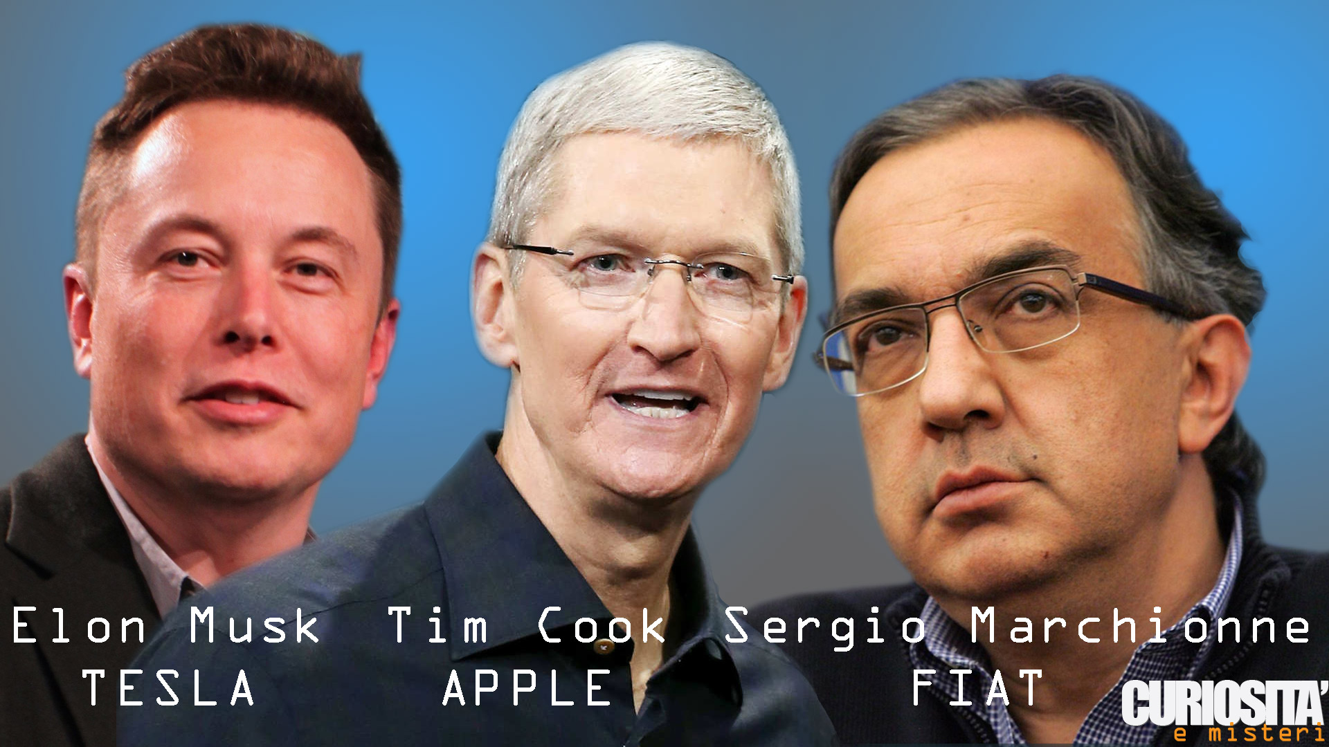 cook musk marchionne