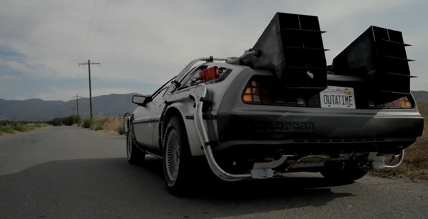delorean per il film