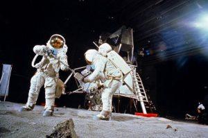 falso sbarco sulla luna
