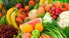 frutta e verdura portano felicita