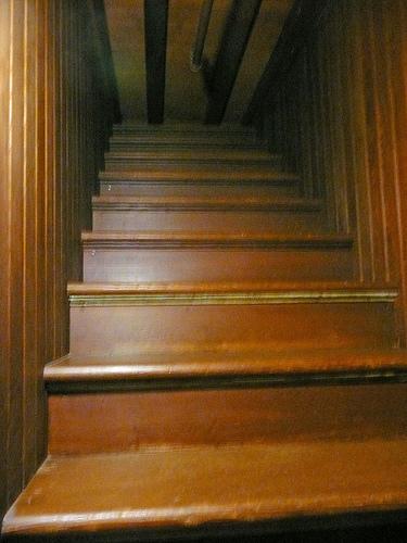 winchester mansion scala verso il nulla