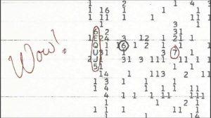 il segnale wow! di SETI